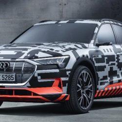 Se presenta el Audi etron. El primer coche eléctrico de Audi