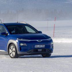 Hyundai nos da detalles del rendimiento del Kona eléctrico en climas fríos