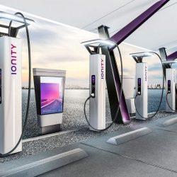 IONITY presenta en Ginebra su cargador de 350 kW