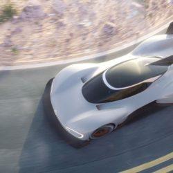 Volkswagen muestra el ID R. Un coche 100% eléctrico con el que participará en la mítica carrera Pikes Peak 2018