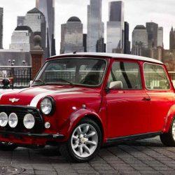 Mini presentará en Nueva York un Mini Cooper clásico convertido en eléctrico: Actualizado