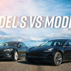 El Tesla Model 3 se enfrenta a su hermano Model S (Vídeo)