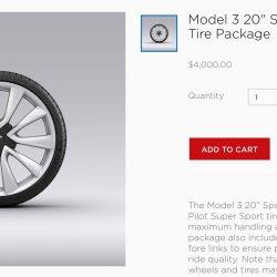 Tesla ya ofrece llantas deportivas de 20 pulgadas en el Model 3. ¿Se acerca la versión Performance?
