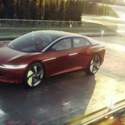 Volkswagen I.D. Vizzion: una berlina de lujo con 111 kWh, más de 500 km de autonomía y que llegará a producción en 2022