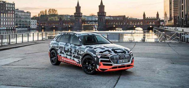 El Audi etron tendrá 400 kilómetros de autonomía WLTP, recarga rápida a 150 kW y acelerada a 22 kW