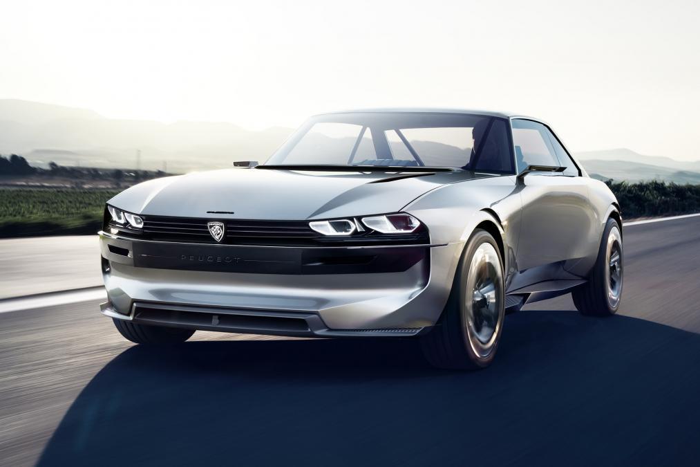 Peugeot E Legend Concept Una Reinterpretacion Del Clasico 504 Coupe