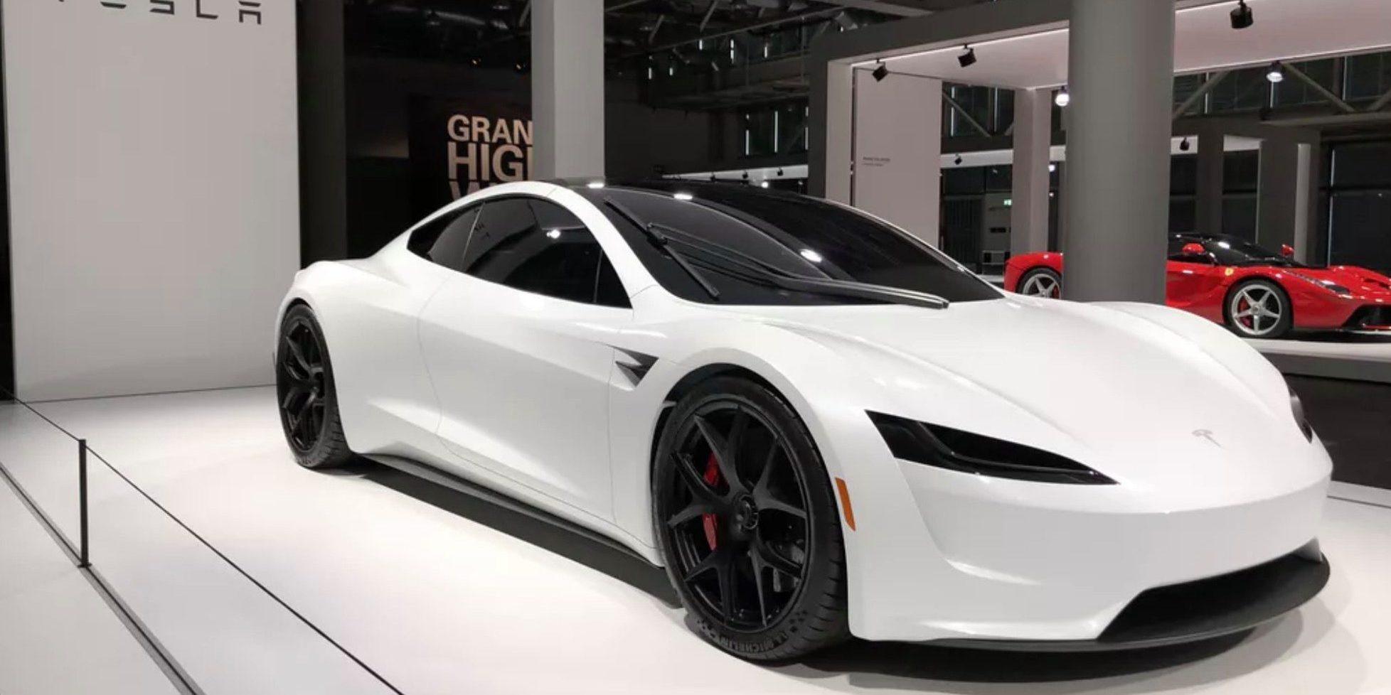 Tesla roadster velocidad maxima