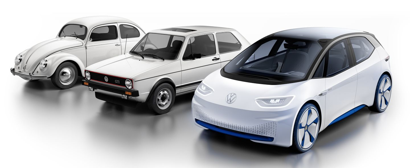 Why does Volkswagen say that ID.3 will be as important as Beetle and Golf?