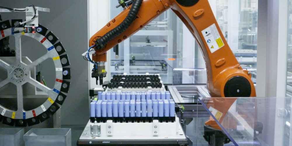 Reciclados de baterías eléctricas