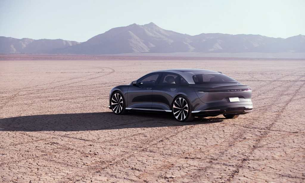 Lucid Motors presentará su primer modelo el 9 de septiembre, y arrancará la producción a finales de año
