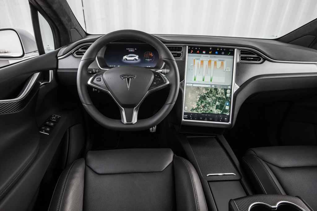 Tesla Model X P90d Interior Forococheselectricos