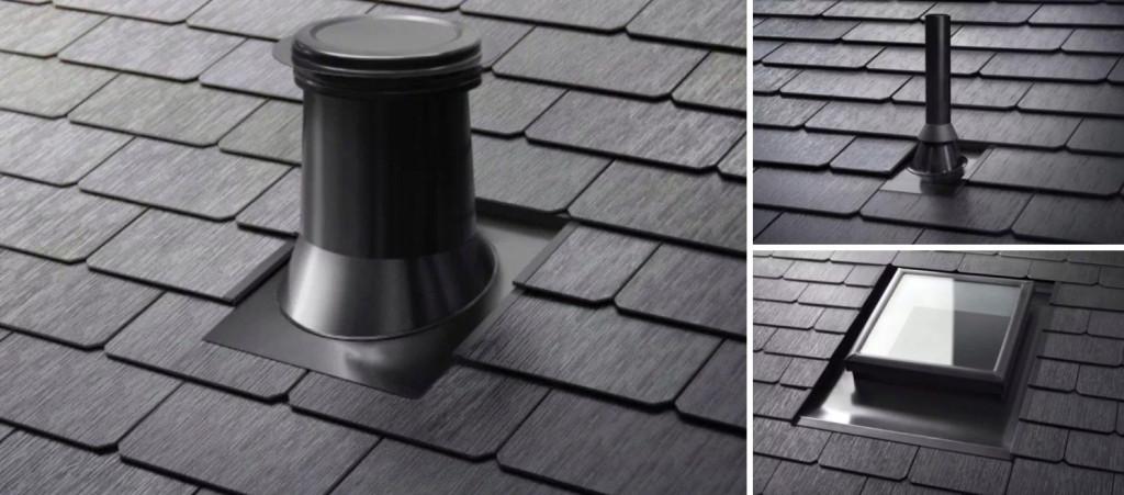 Tesla relanza su tejado solar dise o m s eficiente y - Tragaluces para tejados ...