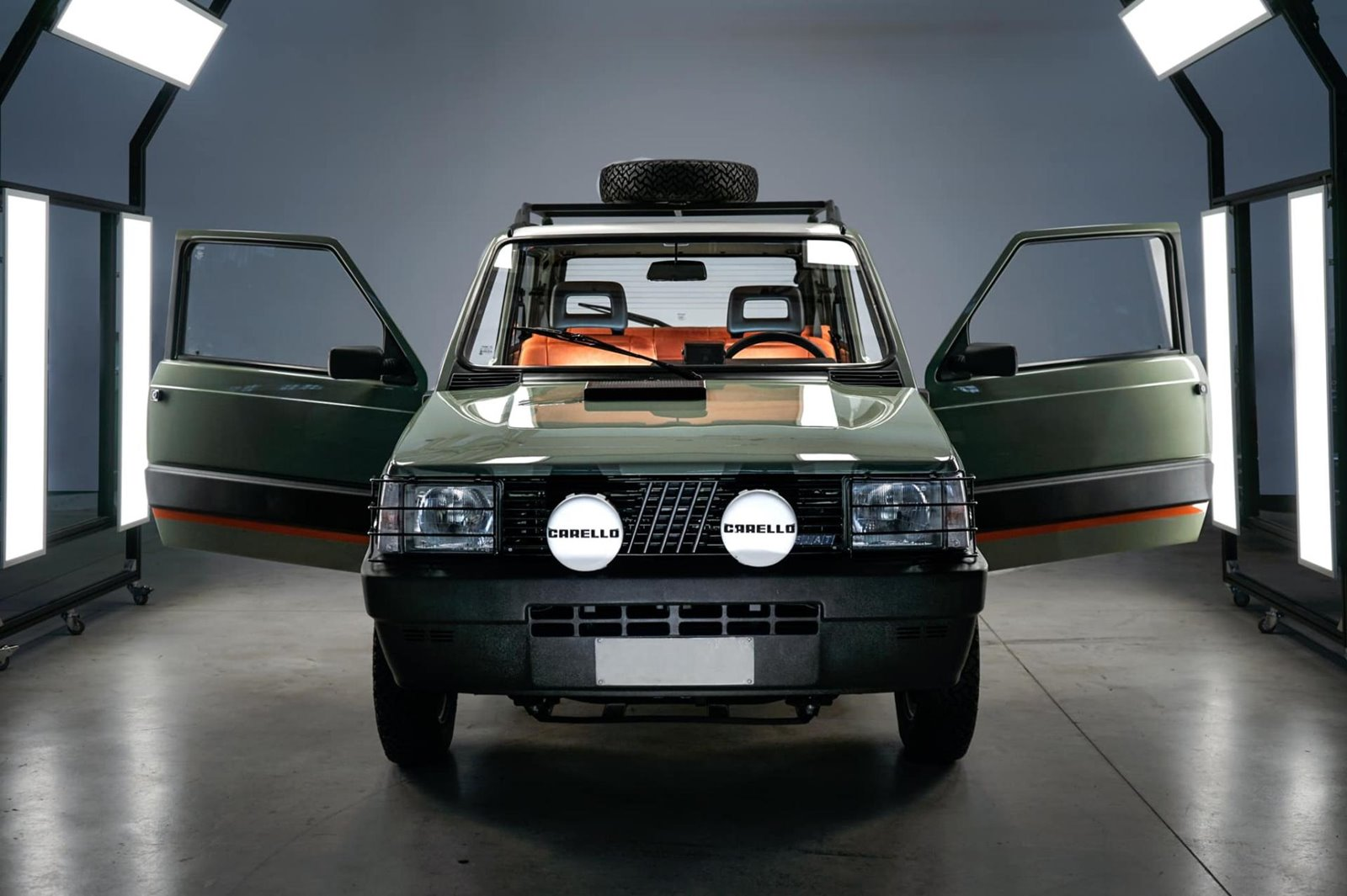 Fiat Panda 4x4 Icon E Un Clasico Ochentero Transformado En Un Coche Electrico De Lujo Forococheselectricos