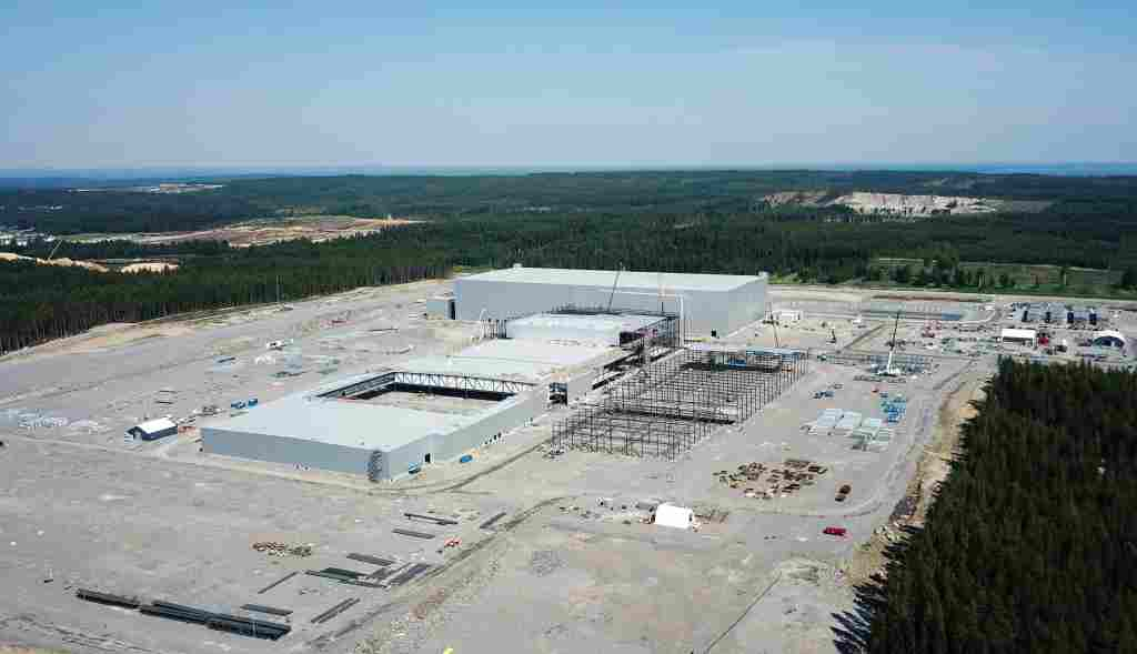 Fabrica Northvolt Suecia