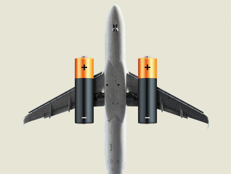 Batería estructural para aviones eléctricos
