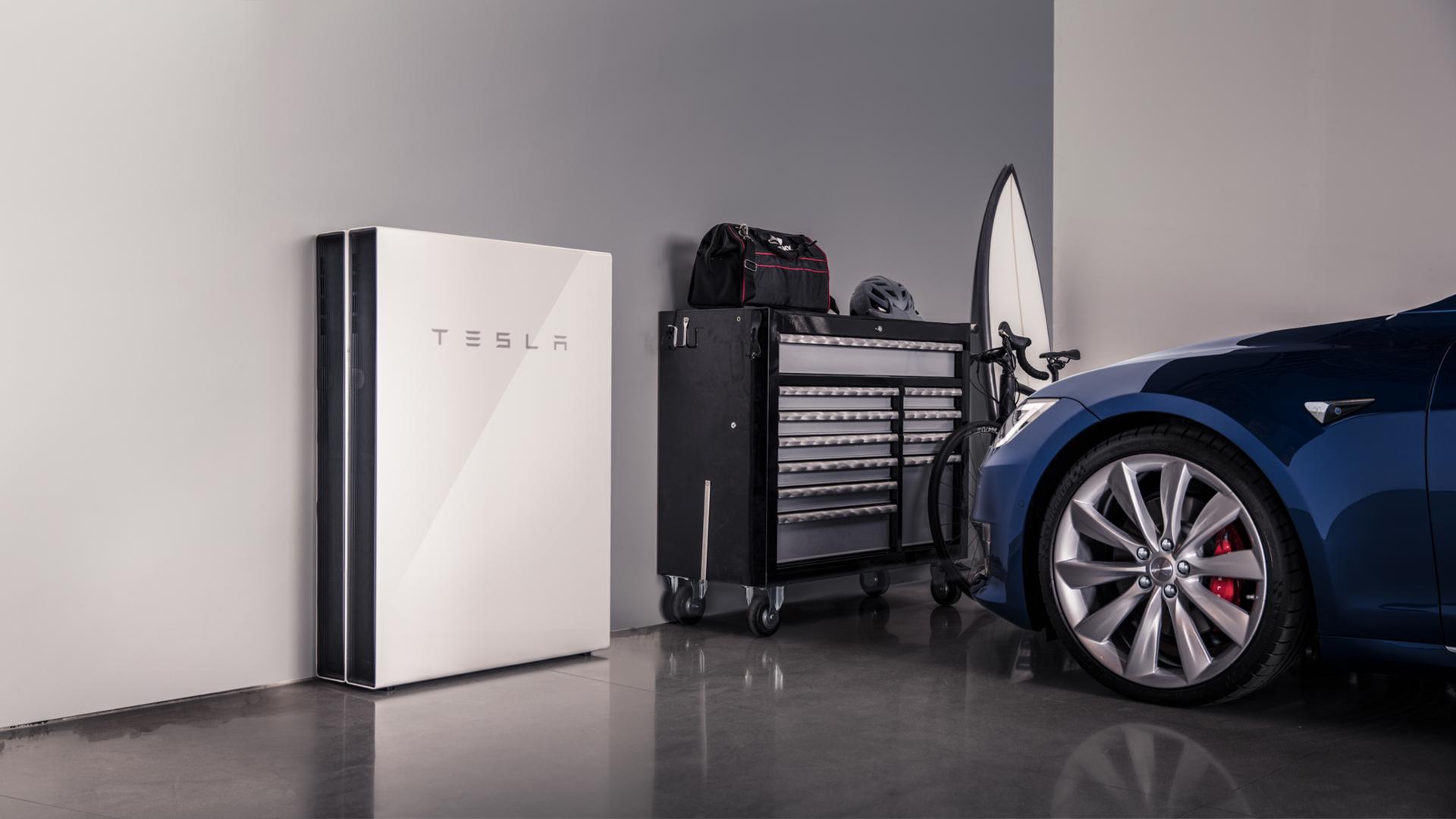 Red virtual de baterías de Tesla en California