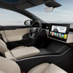 Tesla Model S interior 1