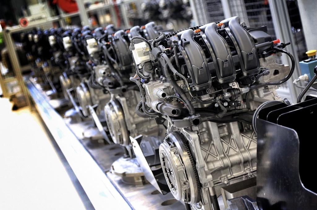 motor coche eléctrico diesel