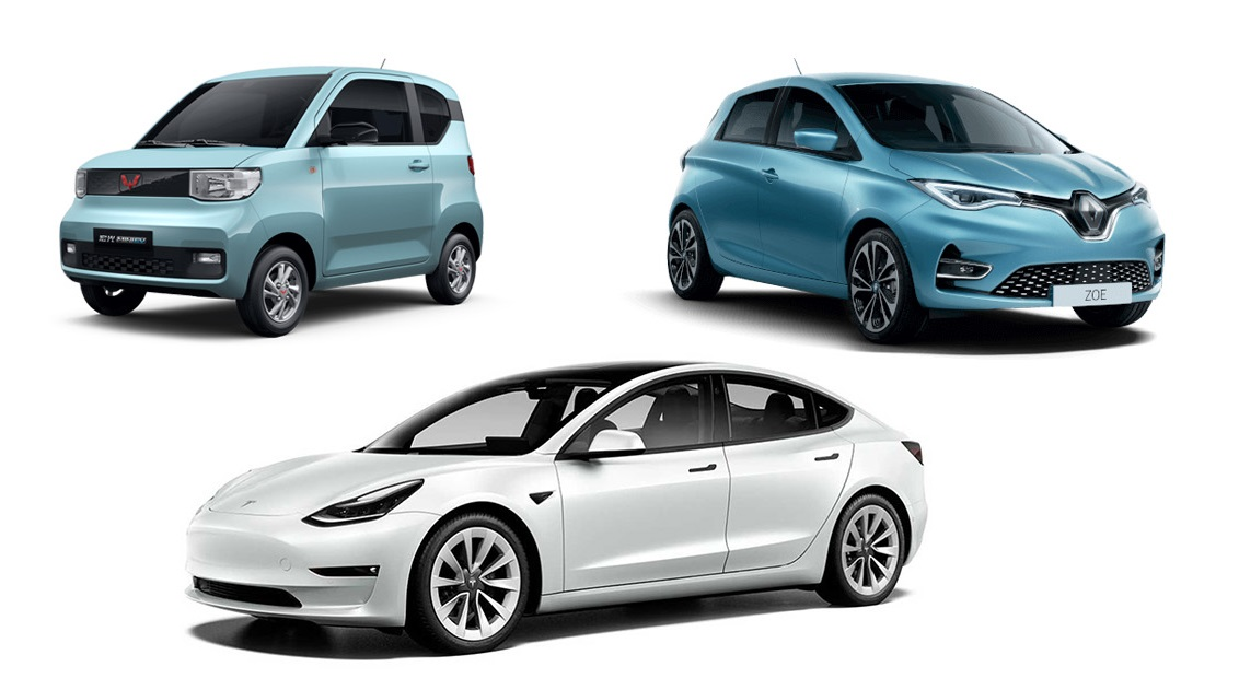 ventas coches electricos primer semestre 2021