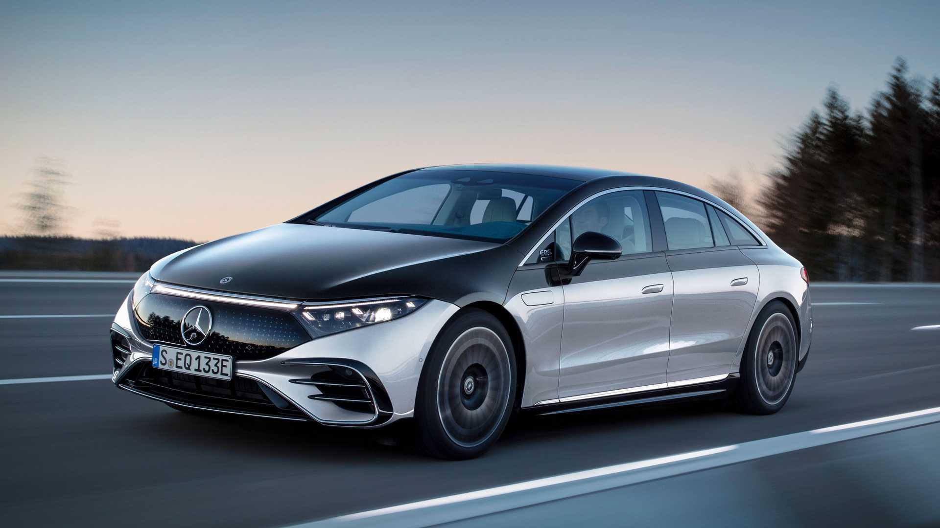 prueba autonomía Mercedes-Benz EQS
