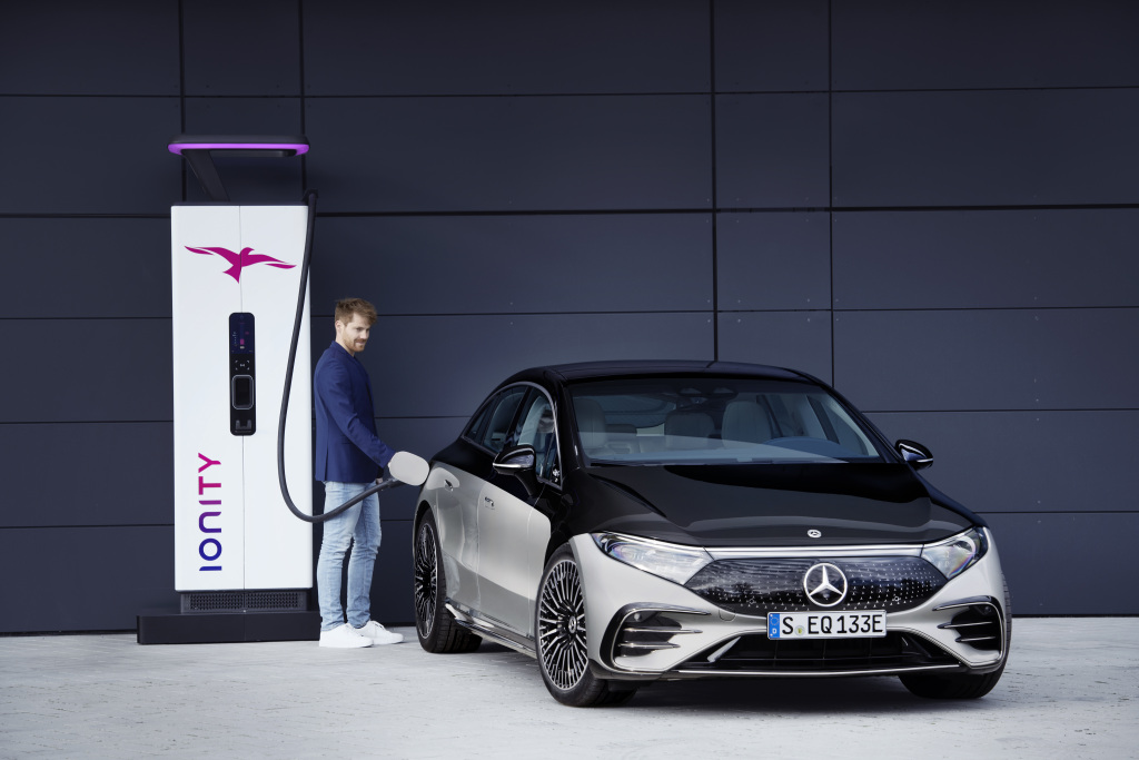 Mercedes EQS producción 2022