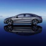Mercedes-EQ, EQS;Stromverbrauch kombiniert: 19,1-16,0 kWh/100 km; CO2-Emissionen: 0 g/km   Mercedes-EQ, EQS; Combined electrical consumption: 19.1-16.0 kWh/100 km; combined CO2 emissions: 0 g/km