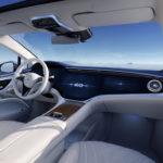 Mercedes-EQ, EQS; Stromverbrauch kombiniert: 19,1-16,0 kWh/100 km; CO2-Emissionen: 0 g/km   Mercedes-EQ, EQS; Combined electrical consumption: 19.1-16.0 kWh/100 km; combined CO2 emissions: 0 g/km*