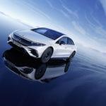 Mercedes-EQ, EQS;Stromverbrauch kombiniert: 20,0-16,9 kWh/100 km; CO2-Emissionen: 0 g/km   Mercedes-EQ, EQS; Combined electrical consumption: 20.0-16.9 kWh/100 km; combined CO2 emissions: 0 g/km
