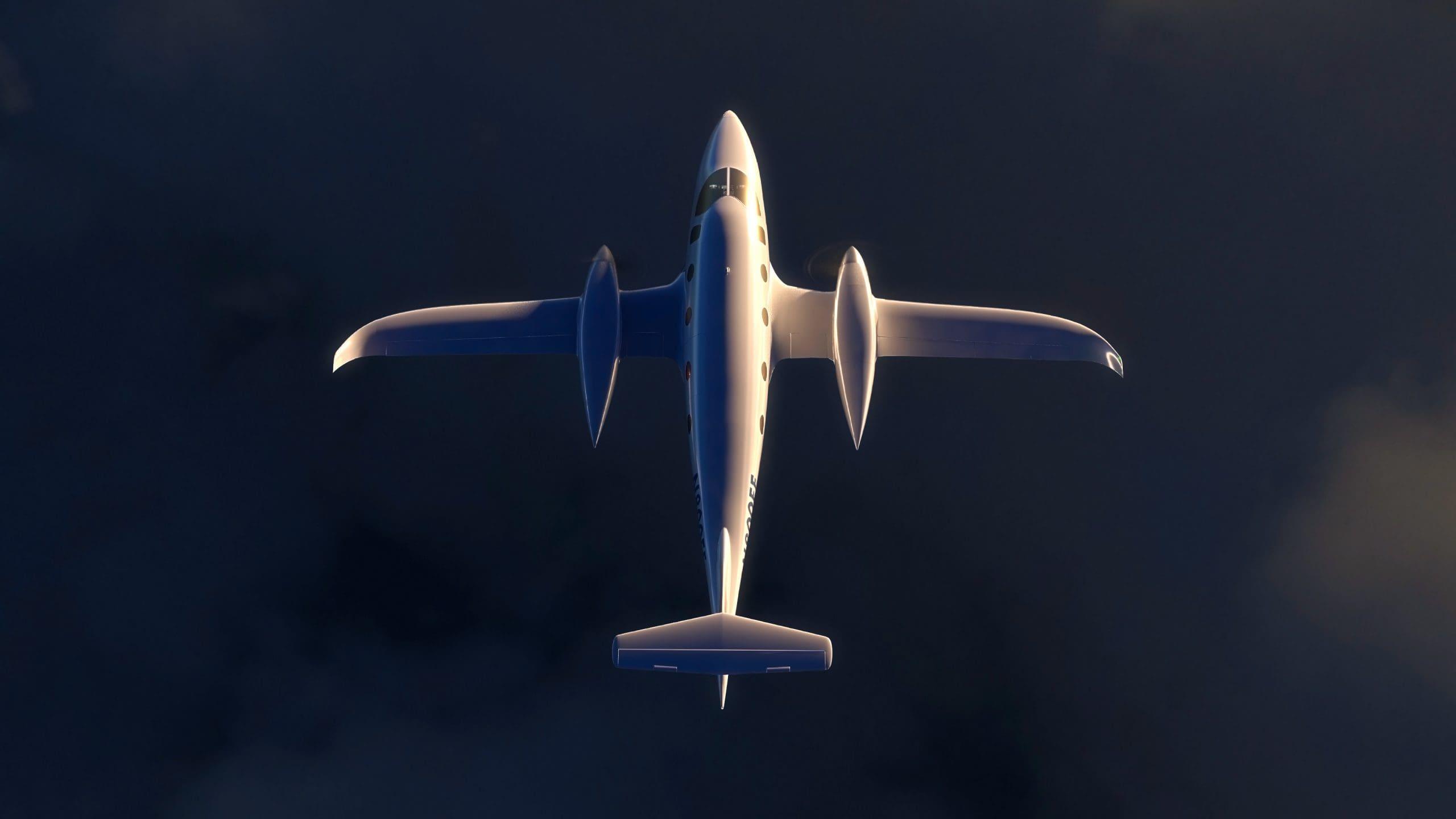 Avión eléctrico Oxys Energy