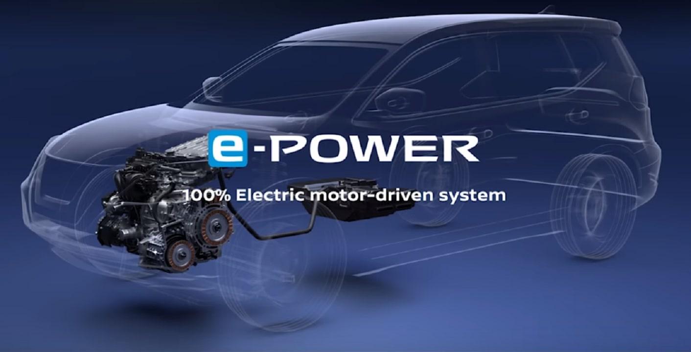 Nissan E-Power eléctrico
