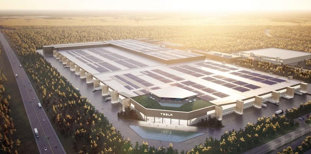 Fabrica de baterías eléctricas de Tesla en Texas