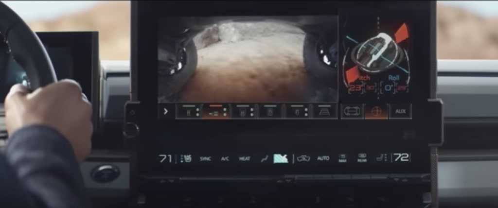 Cámara en los bajos del coche