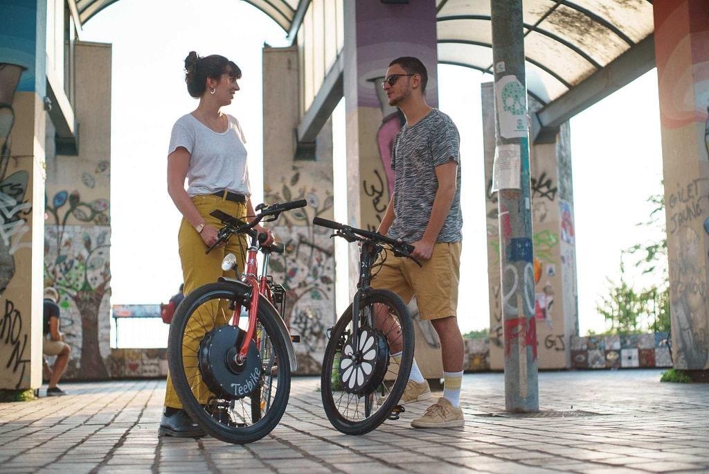 Rueda para bicicletas eléctricas