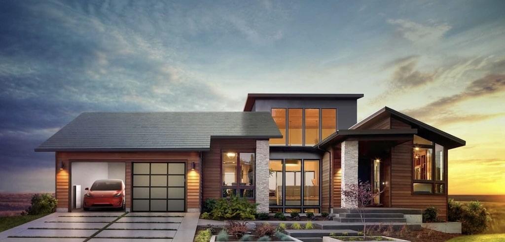 Casa renovable de Tesla