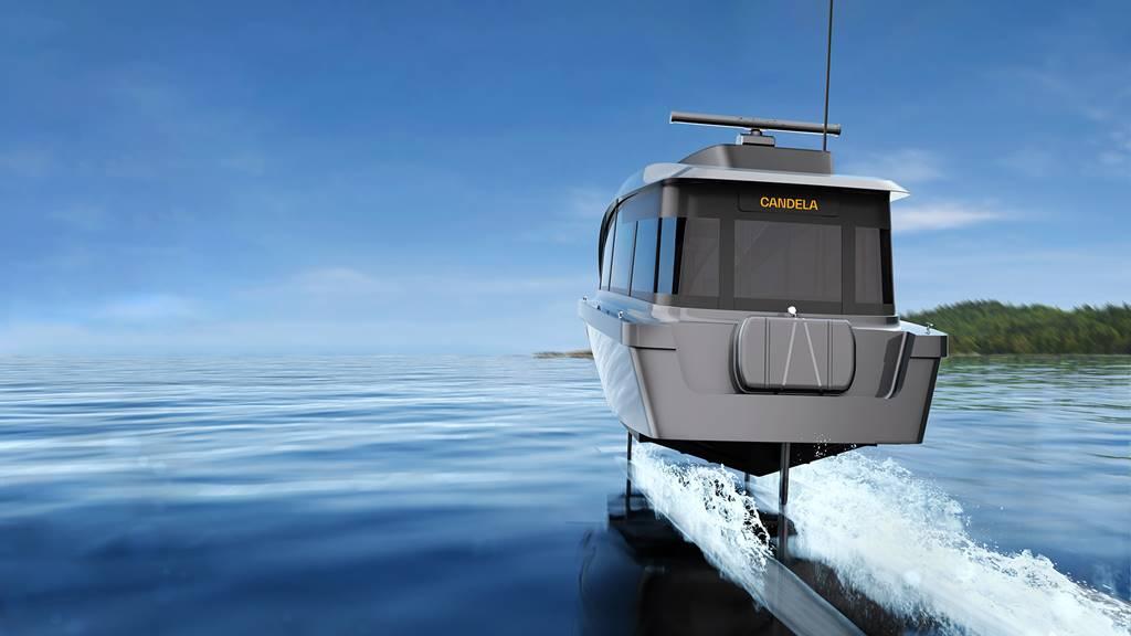 Candela P-12 barco eléctrico hidroala