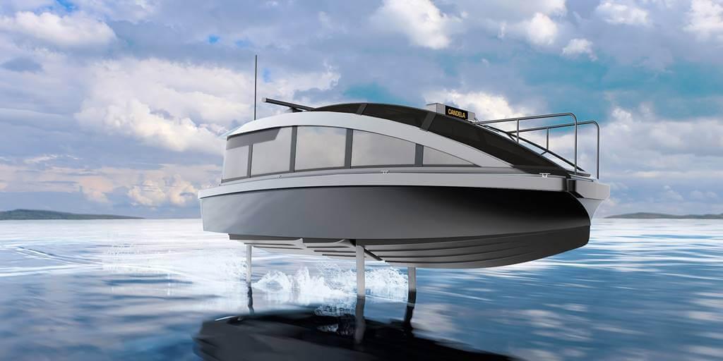 Candela P12 barco eléctrico