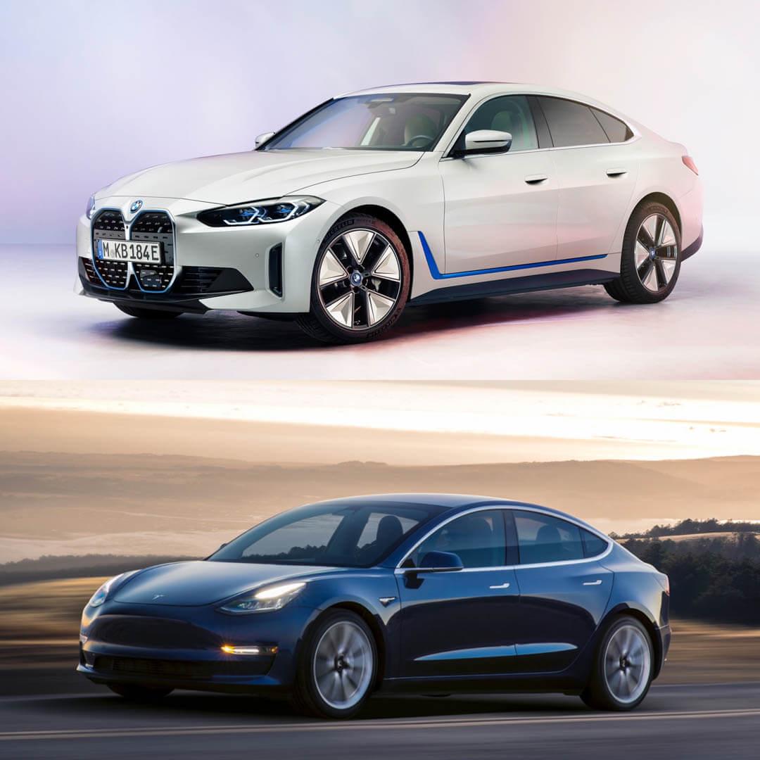 BMW i4 M50 vs Tesla Model 3 Performance