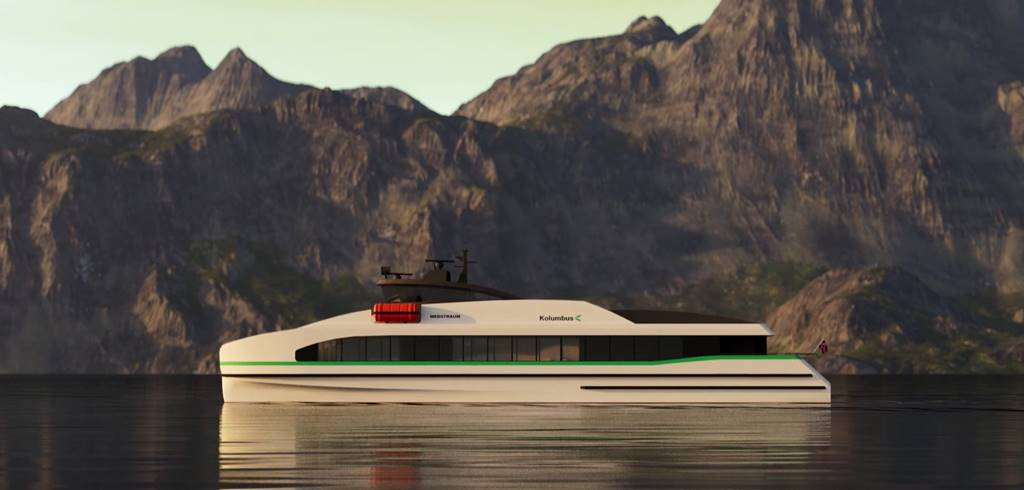 Medstraum ferry eléctrico
