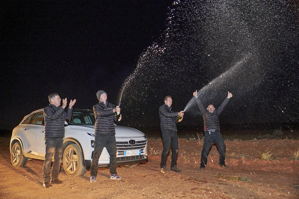 Celebración Hyundai NEXO