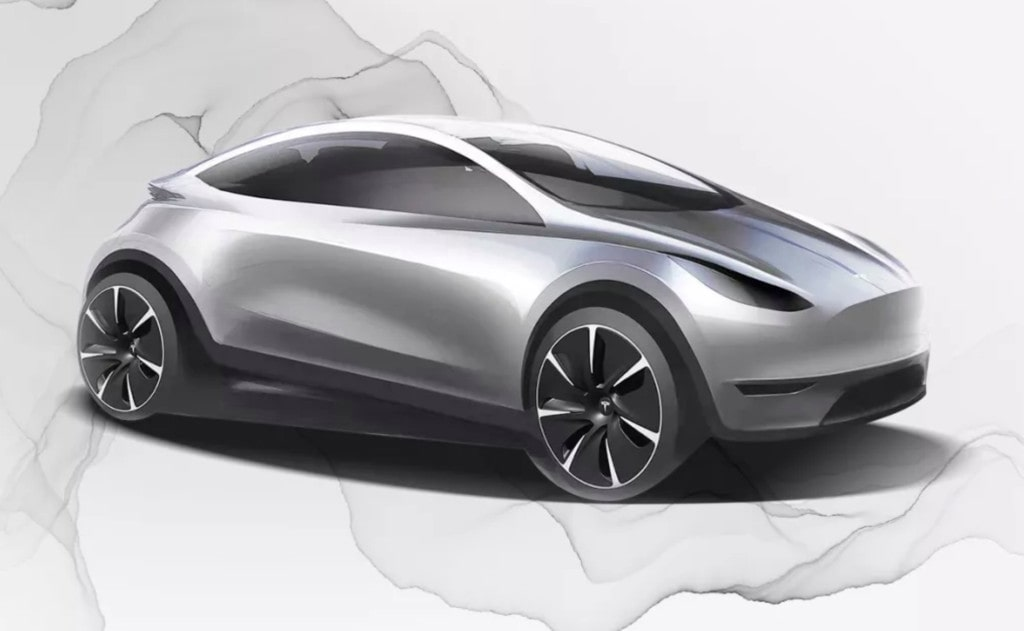 Tesla Model C render