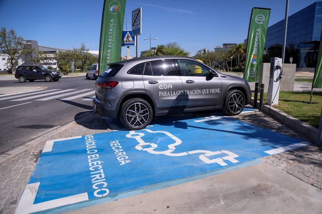 Iberdrola Malaga red de recarga coches eléctricos