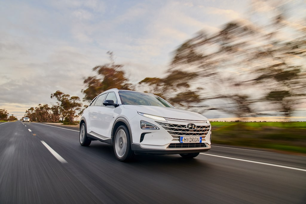 Hyundai Nexo bate record autonomía coche hidrógeno