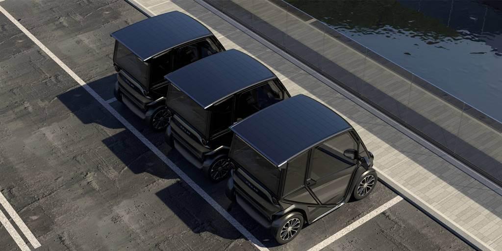 squad solar es un coche eléctrico y solar de bajo coste