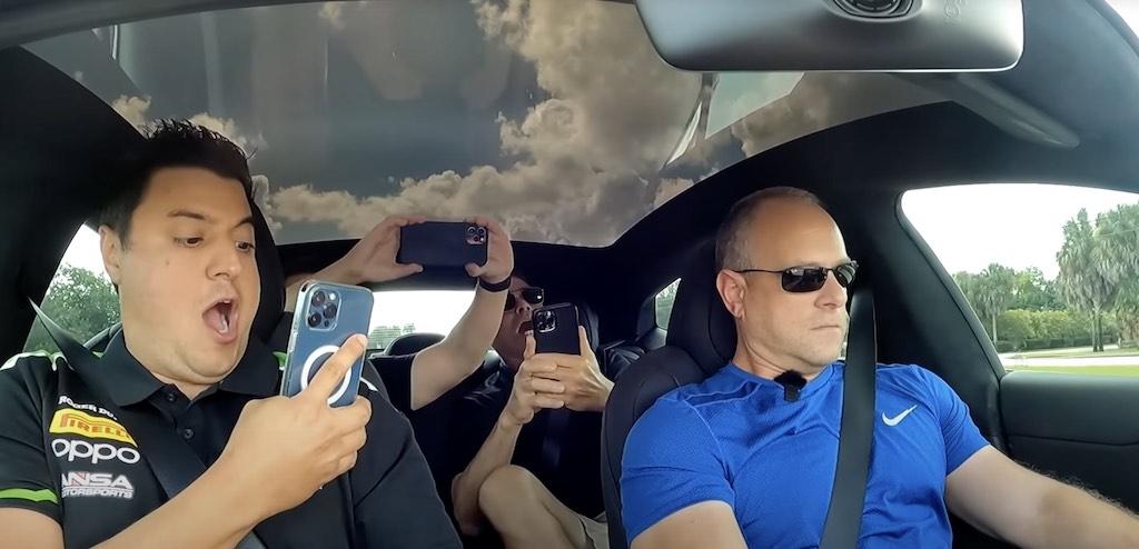 reacciones prueba Tesla Model S Plaid
