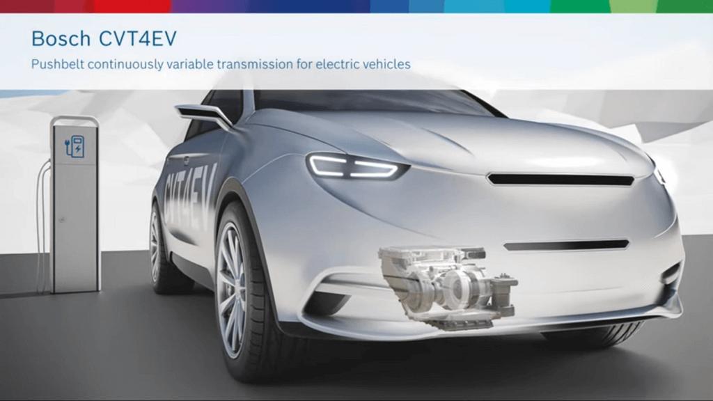 transmisión CVT Bosch coches eléctricos