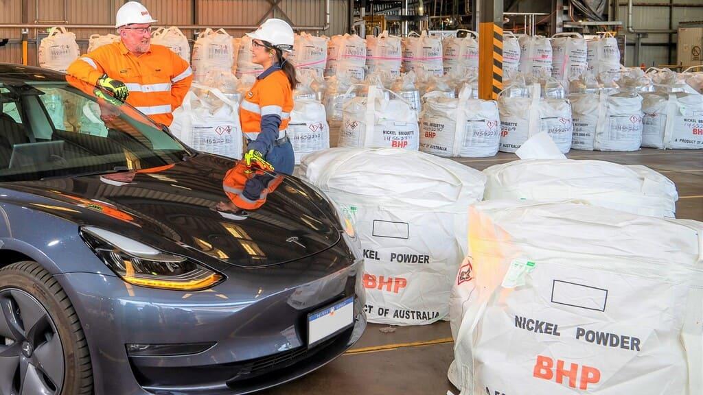 Instalaciones de BHP con un Tesla