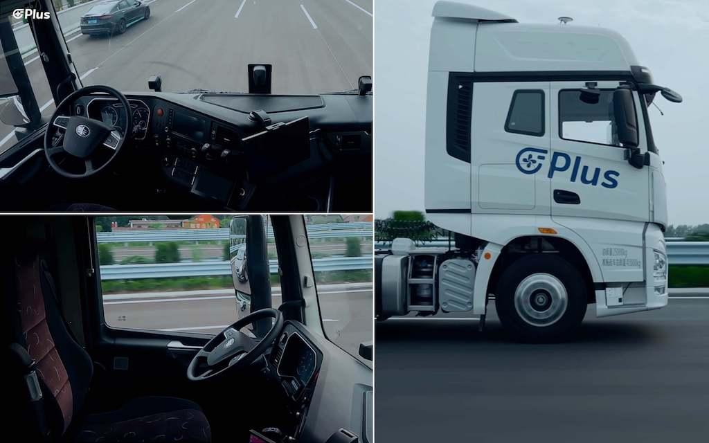 camion conduccion autonoma nivel 4