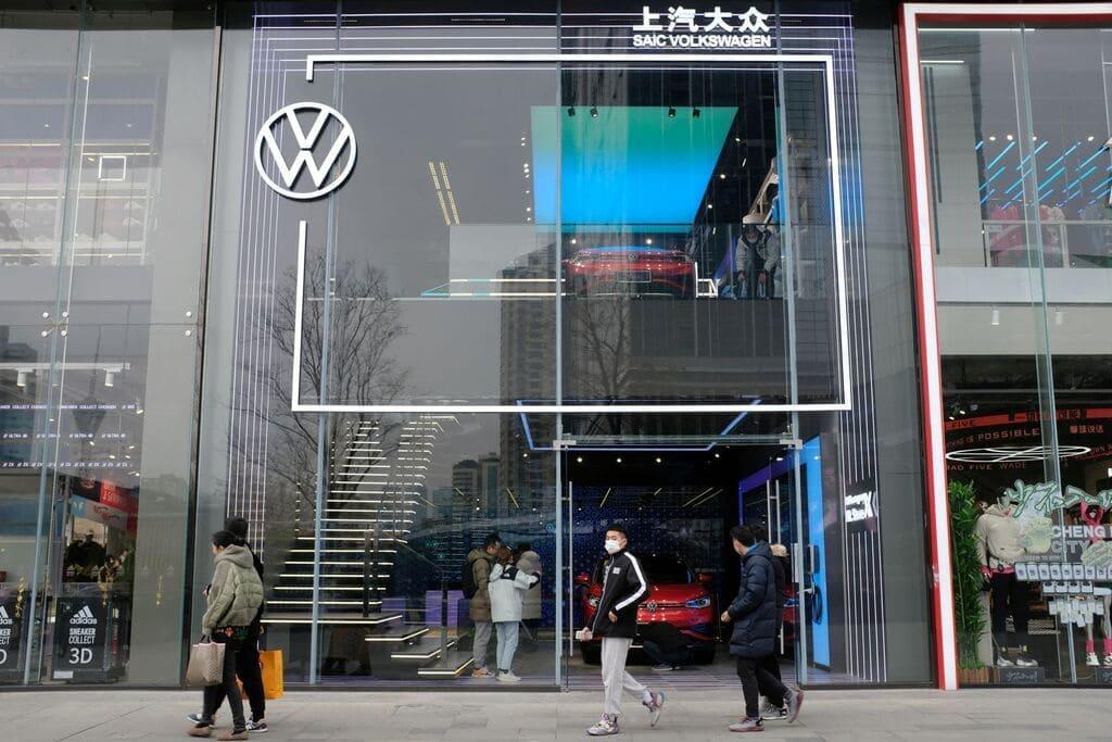 Tienda Volkswagen en China