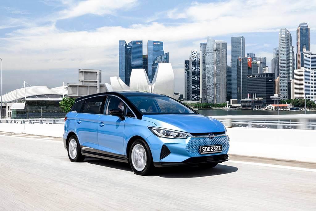byd e6 2021 precio autonomia