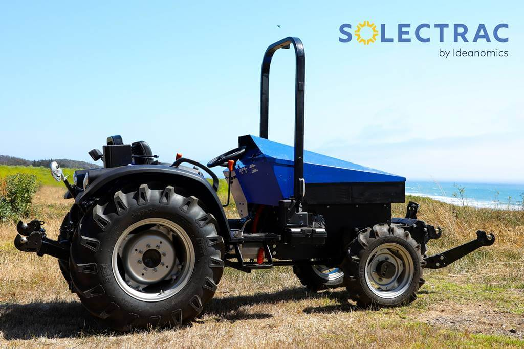soletrac tractor eléctrico
